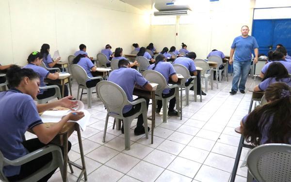 Los estudiantes del Liceo Ambientalista, en Horquetas de Sarapiquí, en su mayoría abordaron el tema de bullying