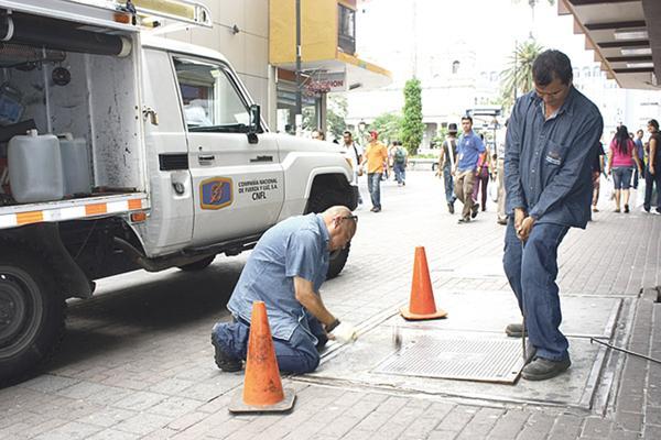 Los habitantes y trabajadores de todos estos sectores estarán sin servicio de electricidad debido a los trabajos de las cuadrillas de la Compañía Nacional de Fuerza y Luz