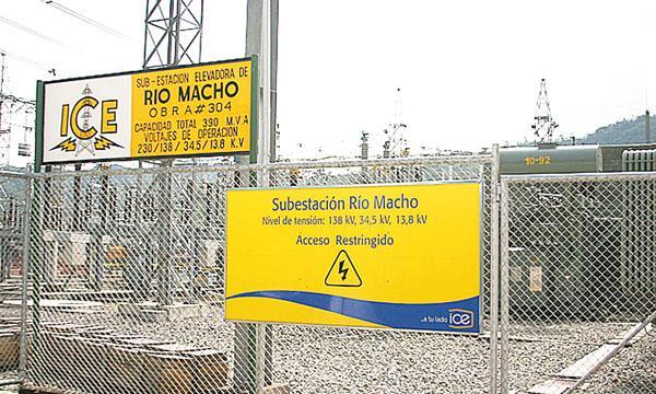El ICE hará trabajos de mejora en la planta Río Macho el próximo fin de semana