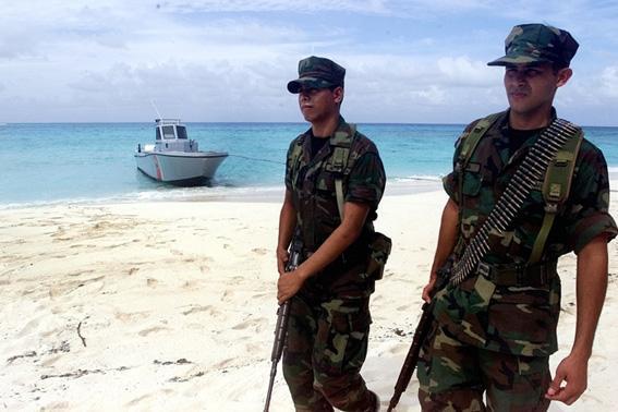 El gobierno colombiano advirtió hoy que no permitirá a Nicaragua realizar exploraciones petroleras en un sector del mar Caribe