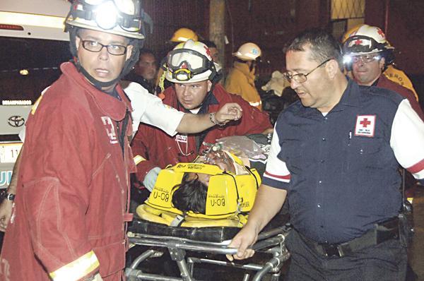 Daniel Solís fue trasladado en condición crítica al Hospital San Juan de Dios
