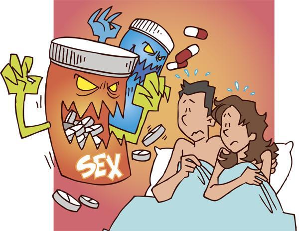 """Muchos de los medicamentos vendidos en los """"sex shop"""" pueden ocasionar efectos secundarios leves hasta severos, algunos tendrían ingredientes que atentan contra la salud de quienes los ingieren"""