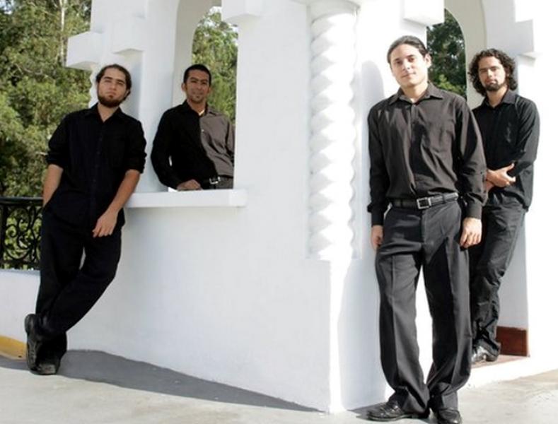 """El Cuarteto de Guitarras de Costa Rica deleitará  hoy al público del espacio  """"Música al Atardecer"""""""
