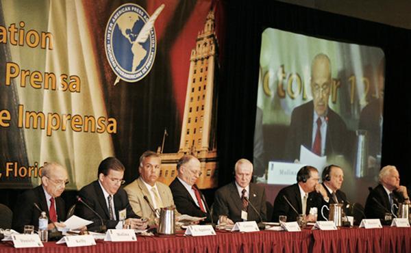 La SIP afilia a 1.196 diarios de toda América, que están convocados para la reunión que se llevará a cabo desde el jueves hasta el sábado