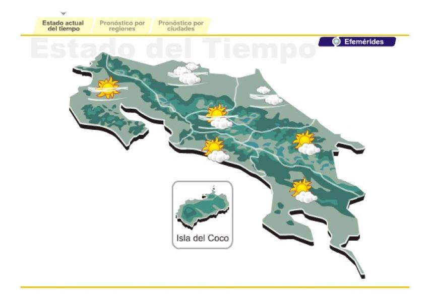 Diario extra condiciones ventosas podr an durar todo el for Pronostico del tiempo accuweather