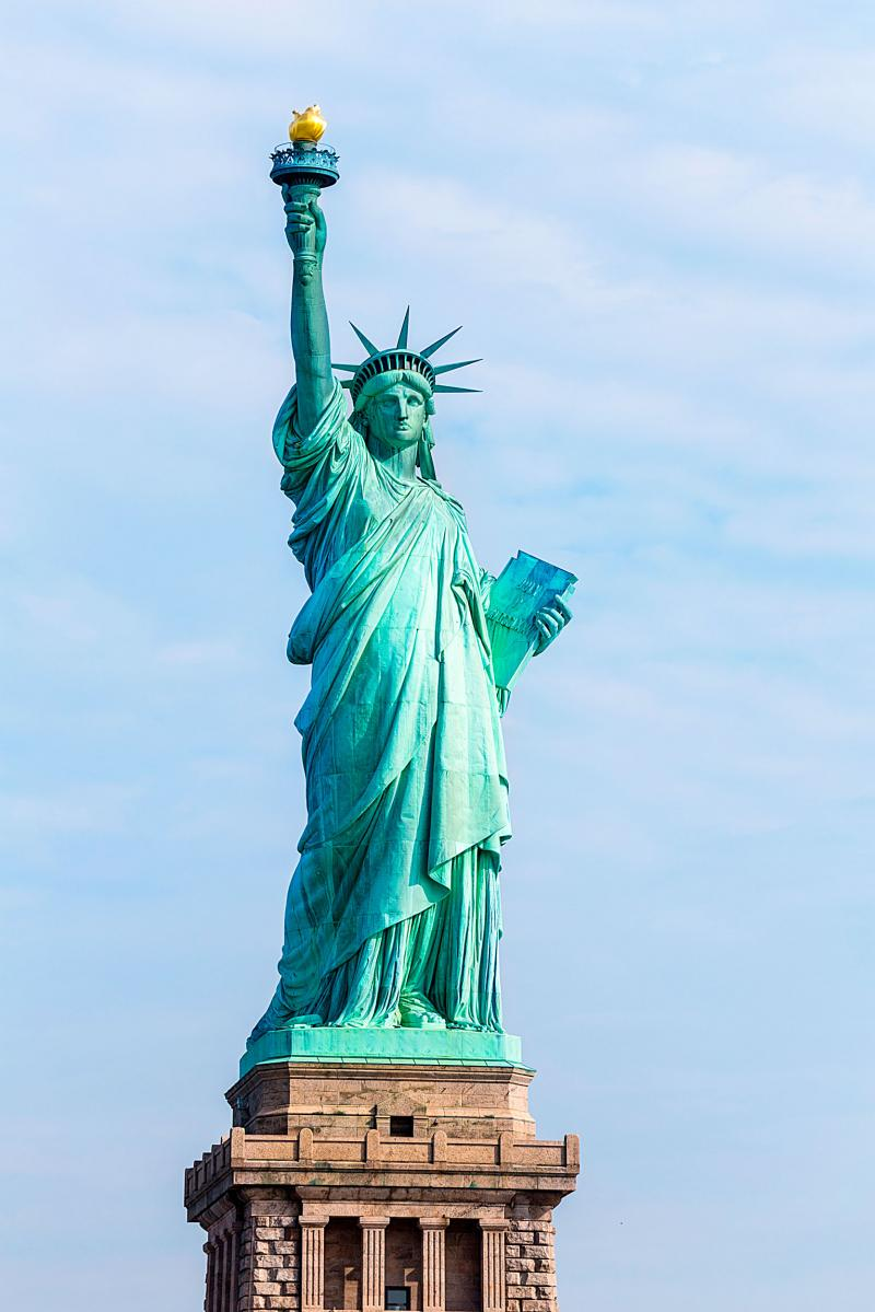 Estatua de la libertad cristo redentor opera de sid for Interior estatua de la libertad