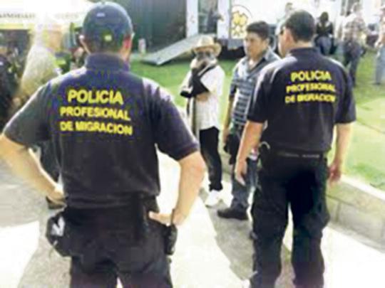 Diario extra polic as de migraci n por fin tendr n for Ministerio de migracion