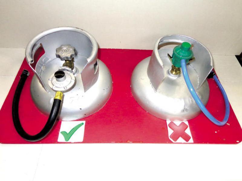 Diario extra reforzar n seguridad de cilindros de gas for Valor cilindro de gas