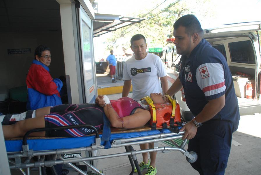 Atropellan mujer mientras corría en Caldera