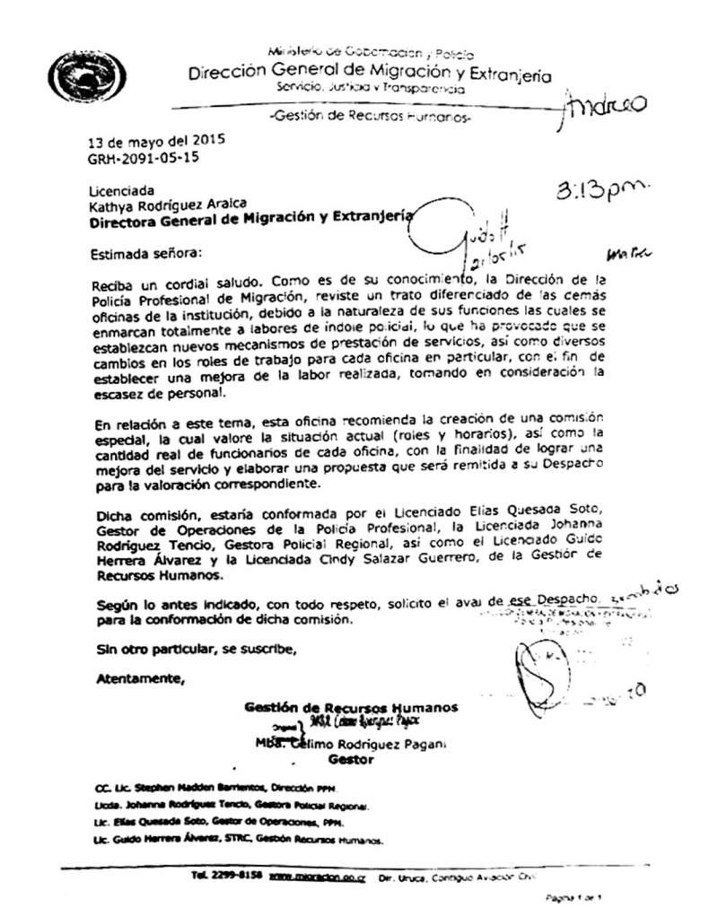 Diario extra cansancio 39 mata 39 a polic as de migraci n for Ministerio de migracion