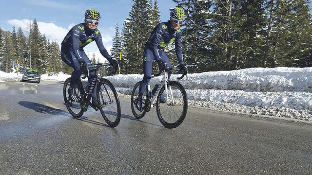 Valverde será el capo de Movistar en el Giro