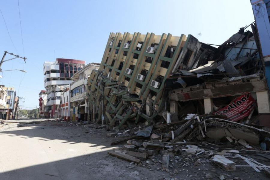 Diario Extra - Sismo de magnitud 6,8 sacude Ecuador