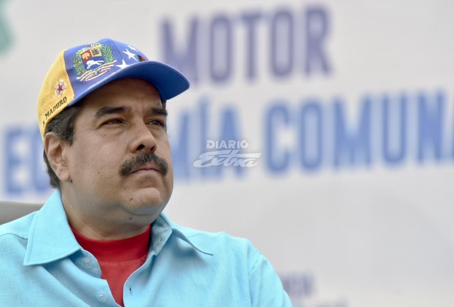 Manifestaciones a favor y en contra del presidente Maduro