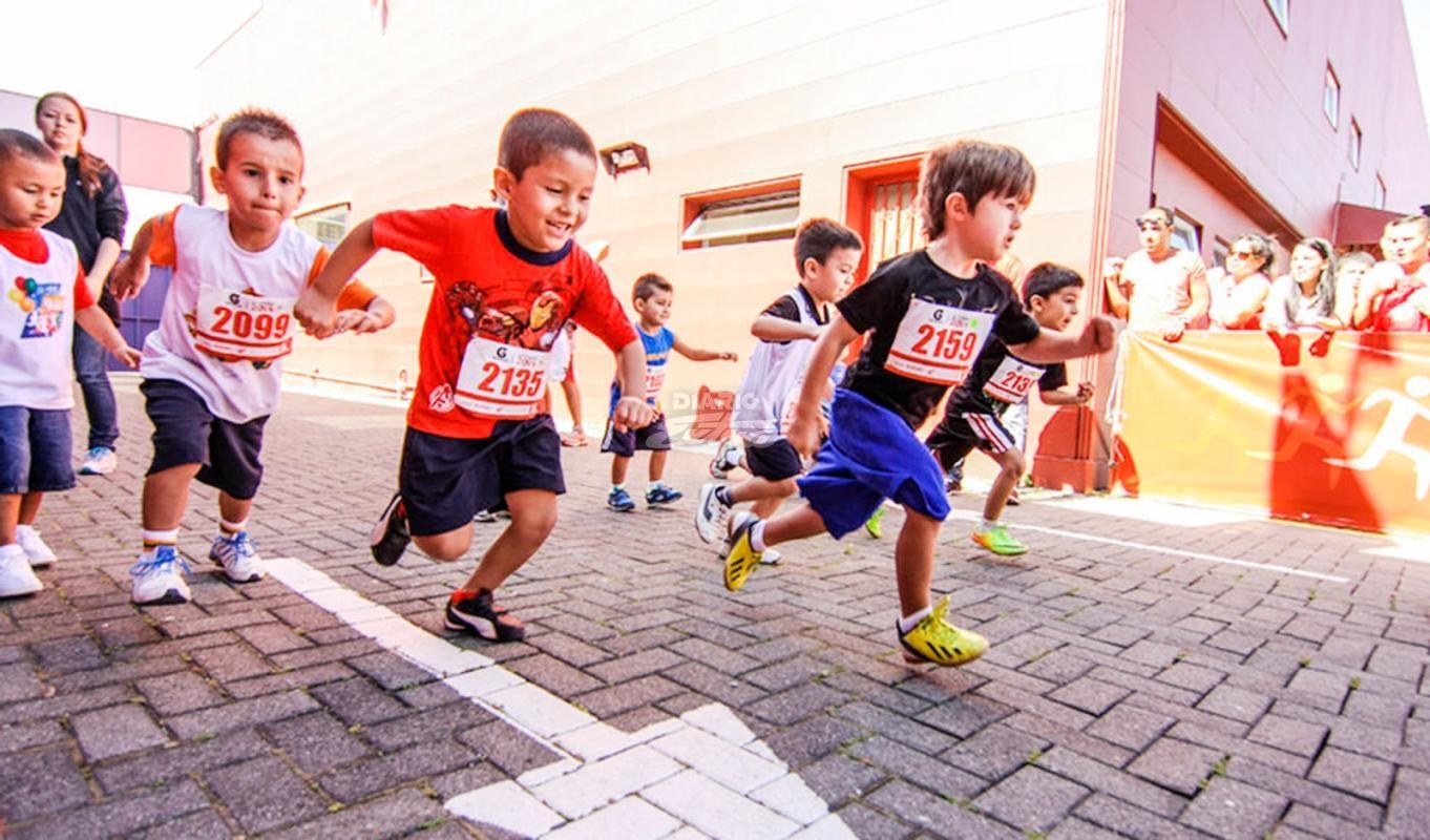 Diario Extra - Una carrera para los más pequeños