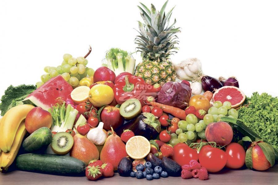 dieta solo frutas y verduras