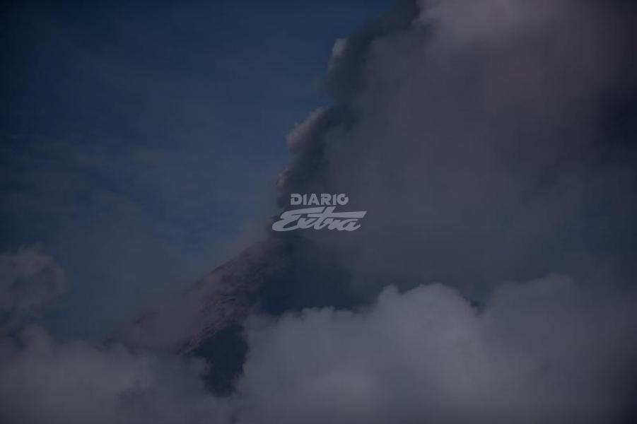 Diario Extra - Volcán de Fuego de Guatemala continúa activo y ...