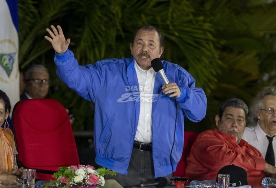 Diario Extra - Ortega acusa a ONG de EEUU y UE de cómplices de 'crímenes'