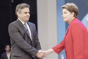 Rousseff y Neves cruzan  sables por denuncias
