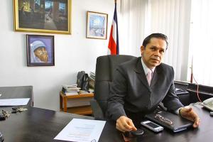 Gilberto Cascante, presidente de ANDE