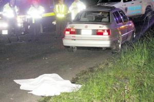 Un hombre falleció luego de ser atropellado al intentar cruzar la vía
