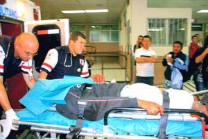 A la víctima la llevaron al Hospital San Juan de Dios, donde murió poco después