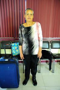 Doña Minerva, dio el número de doña Julia Aguilar, para los que deseen ayudarla a conseguir empleo 6008-3615