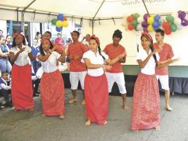 Festival Intercultural de las Artes se apoderó del centro de la ciudad de Limón