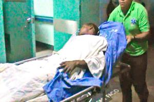 El menor de 16 años fue llevado al hospital en condición delicada