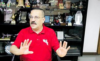 Albino Vargas, secretario general de ANEP
