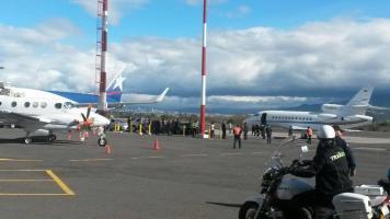 La delegación puertorriqueña estar por salir en los próximos minutos