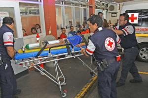 El menor fue llevado en condición delicada al Hospital Nacional de Niños