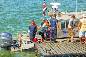 El jueves naufragaron 7 personas que pretendían conocer la isla San Lucas