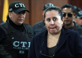 La exjefa del desaparecido Departamento Administrativo de Seguridad (DAS) de Colombia en el Gobierno del presidente Álvaro Uribe, María del Pilar Hurtado