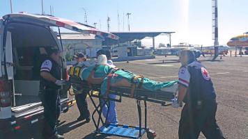 Trasladaron a Cambronero en avioneta desde Quepos hasta Base 2 del Juan Santamaría y después al Hospital México