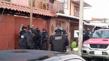 Agentes del OIJ detuvieron a tres sujetos esta mañana como sospechosos de tentativa de homicidio