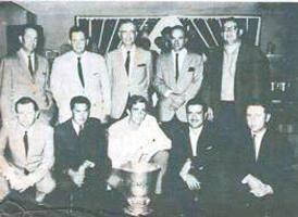 La Selección de Golf de Costa Rica en 1967 conquistó el campeonato centroamericano con los siguientes jugadores, de pie en el orden acostumbrado: Manuel Antillón, Ramón Jiménez, Jame Solera, Manuel E.