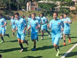 Los seleccionados nacionales dicen estar listos para enfrentar a Santa Lucía en el debut del premundial de Concacaf. (Foto: Cortesía Fedefútbol)