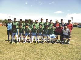 El equipo infantil de Aserrí no pudo hacer valer su campo y cayó 0-2 ante Herediano Proceso. (Foto: Carlos Barquero)