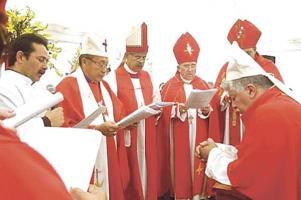 A Melvin Jiménez lo consagraron obispo luterano en 2008; está inactivo tras tramitar una dispensa