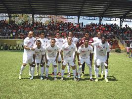 Puntarenas tuvo el apoyo de muchos aficionados en el Chorotega. (Foto: Adolfo Sáenz)