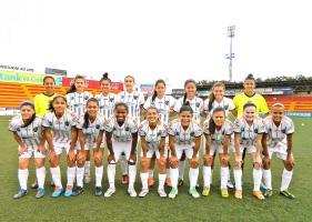 Las muchachas de Dimas-Escazú se robaron los tres puntos del Estadio Rosabal Cordero. (Foto: Carlos Barquero, corresponsal)