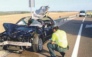 El hombre falleció en un accidente de tránsito