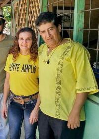 La diputada Suray Castillo, despidió a su esposo Wilmar Matarrita, quien era asesor cercano del exlegislador Ronal Vargas