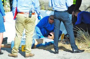 Agentes del OIJ levantaron el cadáver del pirata