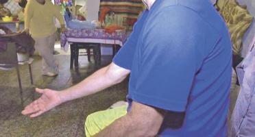 Francisco Flores está mal de salud, después de estar en prisión 1 año y 5 meses. (Foto: Extra TV)