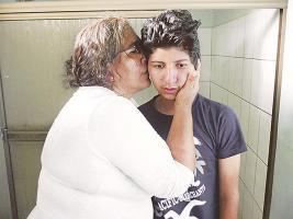 Ángela Potosme se siente muy mal de salud. En noviembre viajó a Nicaragua a constatar si un niño que apareció era el suyo, pero las pruebas dieron negativo