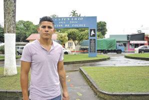 Kevin Fajardo espera una oportunidad en uno de los equipos grandes del país