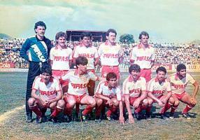 La A.D. Palmares  jugó en la primera división en 1986, este fue el primer representativo de dicho cantón