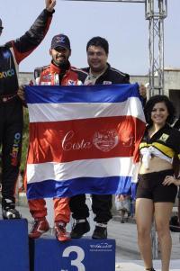 Ticos ganan el tercer puesto en Rally