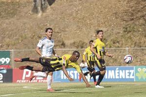 Uruguay complica su clasificación a semifinales. (Foto: Herbert Arley)